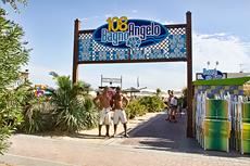 Bagno Angelo 108 Rimini | Stabilimento Balneare | Zona 108